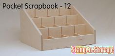 Project Life Pocket Pocketed Scrapbook Storage Organization