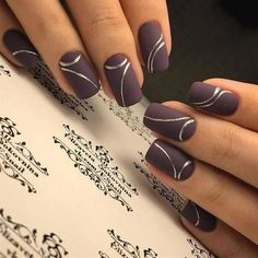 Nail art Christmas - the festive spirit on the nails. Over 70 creative ideas and tutorials - My Nails Stylish Nails, Classy Nails, Trendy Nails, Cute Nails, Fingernail Designs, Gel Nail Designs, Cute Nail Designs, Nails Design, Design Design