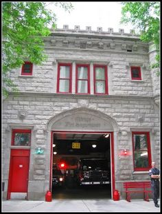 Chicago Fire Station No. 98 | Shared by LION