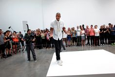 """a unique form of art - Jay-Z's rap marathon, inspired by Marina Abramovic's 2010 MoMA exhibition, """"The Artist Is Present"""""""