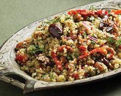 Mediterranean Quinoa Salad Recipe on Yummly. @yummly #recipe