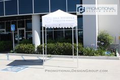 5' by 5' Pop Up Tent for Jill Pfeiffer Ettiquete School
