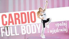 Trening CARDIO FULL BODY łączy w sobie wszystko, co najbardziej lubicie: ćwiczenia cardio przeplatane zestawami wzmacniającymi. W ciągu 35 minut popracujesz nad kondycją, a dodatkowo wzmocnisz i wymodelujesz całe ciało. Cardio, Full Body, Total Body Workouts