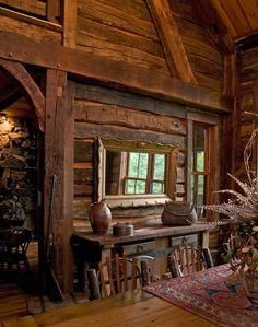 I've always liked log houses.