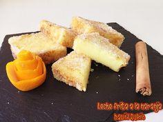 Nueva receta disponible en el Blog: Leche frita a la naranja Cornbread, Pineapple, Ethnic Recipes, David, Ideas, Blog, Cold, Cooking Recipes, Pastries