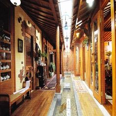 Joglo house (Javanese traditional)