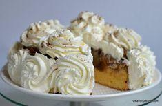 reteta tort de mere Caramel, Food And Drink, Sweets, Cookies, Healthy, Desserts, Drinks, Pork, Pie