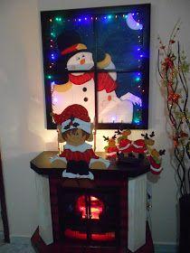 Portallaves  Vinera Apliques arbol Decoracion mesa  Vinera Port... Adornos Halloween, Mary, Christmas Ornaments, Pasta Flexible, Ideas, Scrappy Quilts, Model, Christmas Paintings, Appliques