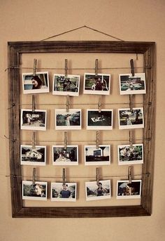 Graduation / fun way to display photos
