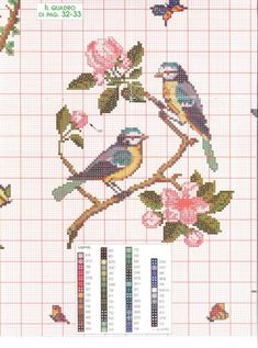 Mini Cross Stitch, Cross Stitch Cards, Simple Cross Stitch, Cross Stitch Animals, Cross Stitch Flowers, Cross Stitching, Easy Cross Stitch Patterns, Cross Stitch Designs, Christmas Embroidery Patterns