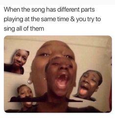 Why is this so true lol dankest memes, comebacks memes, singing funny, beyo 9gag Funny, Stupid Funny Memes, Funny Relatable Memes, Haha Funny, Funny Texts, Funny Stuff, Funny Laugh, Memes Humor, Ver Memes