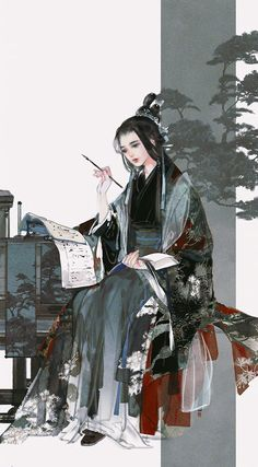 by ibuki satsuki Art And Illustration, Character Illustration, Art Anime Fille, Anime Art Girl, Character Inspiration, Character Art, Character Design, Fantasy Kunst, Fantasy Art