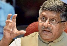 Indian IT products should be used globally: Ravi Shankar Prasad!!