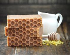 Bee Mine Soap, Handmade Goat Milk Beeswax and Honey Soap, Organic Gold Honey Soap, Kitchen Soap, Synergy Soap, Gourmet Soap, Love Gift Soap