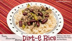 Trim Healthy Mama style Dirt-E Rice | The Coers Family | Bloglovin'