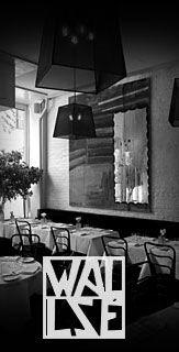 Wallse Restaurant, Viennese. West Village, NYC