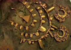 Punic jewellery, Aliseda Treasure, 7th cent. BC Tunisia National Archaeological Museum of Spain, Madrid
