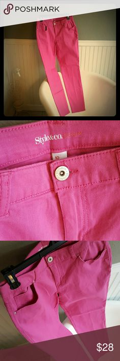 PERFECT CONDITION Style & Co Jean's! Selling a Pair of PERFECT CONDITION Style & Co Jean's! These are a soft stretch Jean, very comfortable, great color! Size 10. Style & Co Jeans