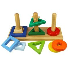 Buy Twist and Turn Puzzle from our Sorting & Stacking range at Bigjigs Toys. Award winning toys for every step of the way. Wooden Toys Uk, Wooden Puzzles, Toddler Toys, Kids Toys, Baby Toys, Montessori, Latch Board, Mulberry Bush, Traditional Toys