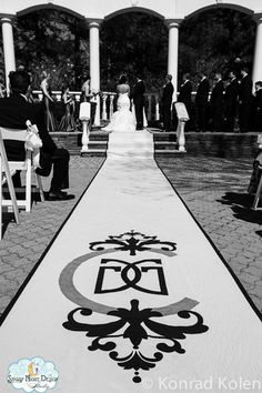 Aisle Runners Custom Aisle Runners with by StarryNightDesign, $335.00