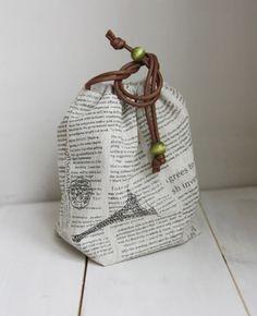 Reversible Drawstring Bag Tutorial ~ DIY Tutorial Ideas!