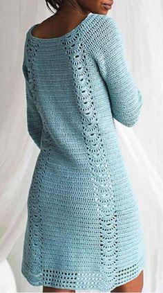 Crochet dress - made to order - hand made Crochet Wedding Dresses, Crochet Summer Dresses, Summer Dress Patterns, Crochet Skirts, Skirt Patterns, Coat Patterns, Baby Dresses, Blouse Patterns, Sewing Patterns