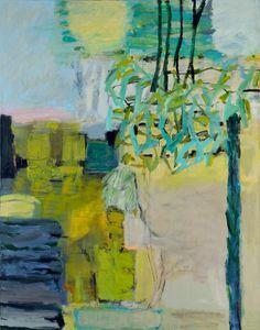 "Irmgard Weber: ""Garten""   2008   Acryl / Leinwand   180 x 140 cm"