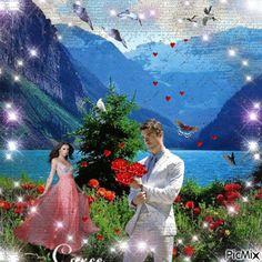 Imagini pentru animated.gif. cosuri cu flori