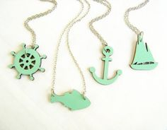 Sea Adventures Necklaces, $19 each