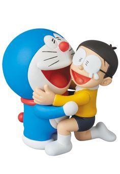 Medicom Ultra Detail Figure Doraemon Comes Back Doraemon Nobita figure Cartoon Wallpaper Hd, Happy Wallpaper, Anime Figures, Action Figures, Doremon Cartoon, Doraemon Wallpapers, Simple Cartoon, Mascot Design, Kawaii