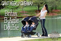 BABY GIZMO GIVEAWAY: Britax B-Agile Double Stroller