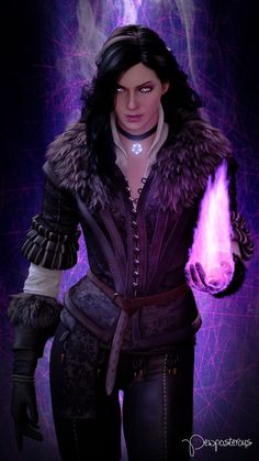 The Witcher - Yennefer of Vengerberg The Witcher 3, The Witcher Wild Hunt, Witcher Art, Yennefer Witcher, Yennefer Cosplay, Yennefer Of Vengerberg, Fantasy Women, Fantasy Art, Character Portraits