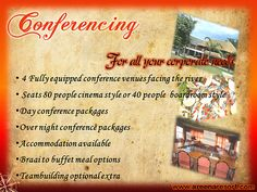 Conferencing - For all your corporate needs Riverside Resort, Buffet, Buffets, Catering Display, Food Buffet