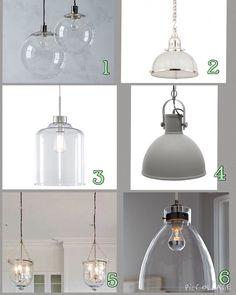 Top 6 Hamptons Style pendant lights