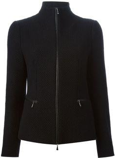 Giorgio Armani zipped knit jacket (Olivia Pope)