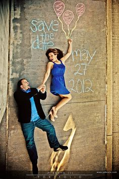 Cute!! I WILL have a side walk chalk save the date :)