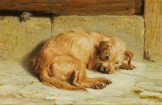 Briton Riviere - Watching Dog