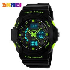 SKMEI Digital LED Display Sports Watches For Men Women Kids Children Quartz Sport Watch Relojes Multifunctional Boy Wristwatches