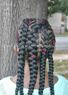 Beads, Braids and Beyond: Natural Hairstyle for Kids: Fish Bone Cornrows