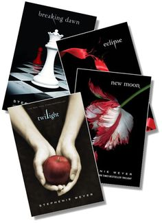 Of course I loved the Twilight books!  What girl / woman doesn't???