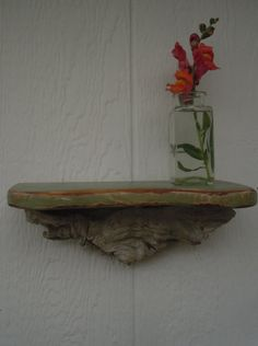 Distressed Driftwood Shelf
