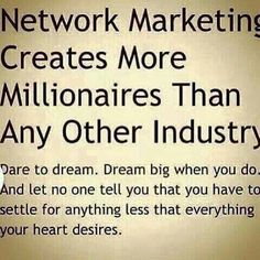 This is the best business to be part of!! Making dreams come true around the world :)