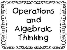 5th Grade Common Core Math Student-Friendly Standards & Essential Questions