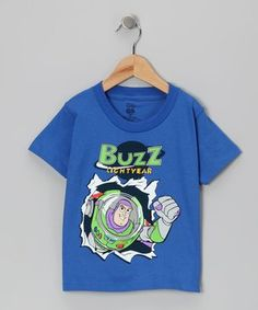 Royal Blue Toy Story 'Buzz Lightyear' Tee - Toddler