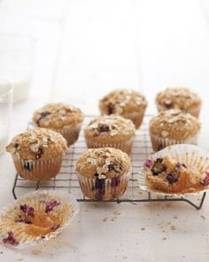 Muffins // Blueberry Health Muffins Recipe