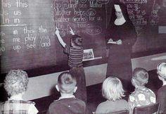 nuns teaching catholic schools