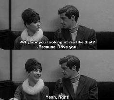 Yeah, Right! Une Femme est une Femme, Jean Luc Godard