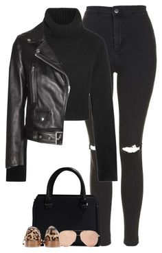 """""""Eleanor"""" by fanny483 ❤ liked on Polyvore featuring Topshop, Michael Kors, Acne Studios and Victoria Beckham"""