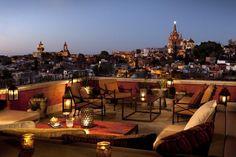10 невероятных крыш отелей
