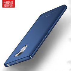 Original MSVII Brand For Xiaomi Redmi 4 pro prime phone case Silicone scrub cover Luxury Hard Frosted PC Redmi 3S NOTE 3 4 case